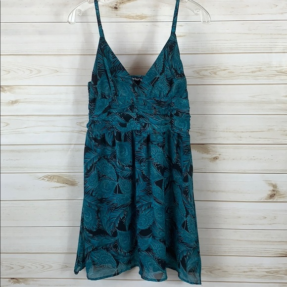 Planet Gold Dresses & Skirts - PLANET GOLD~ Large Teal Dress
